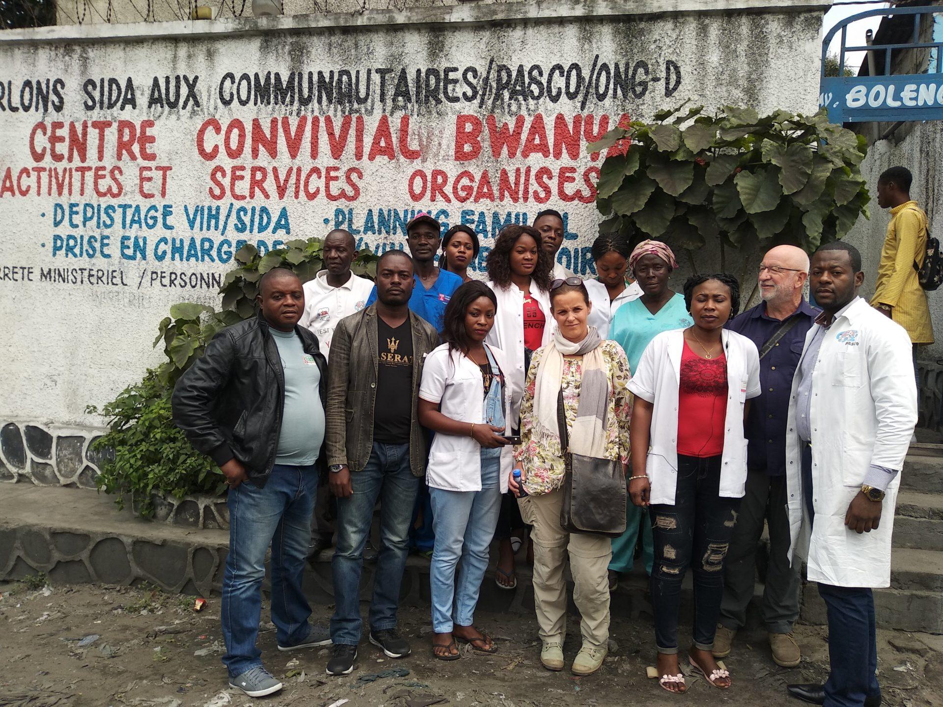 Masina - Centre de santé Pasco avec l'équipe du centre
